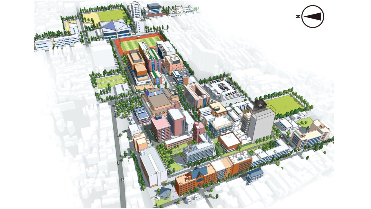 近畿大学キャンパスマップ